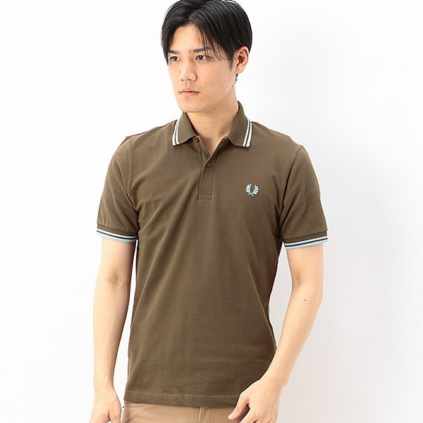 【S20/MEN'S NON-NO2月号掲載】TWIN TIPPED FRED PERRY SHIR/フレッドペリー(メンズ)(FRED PERRY)