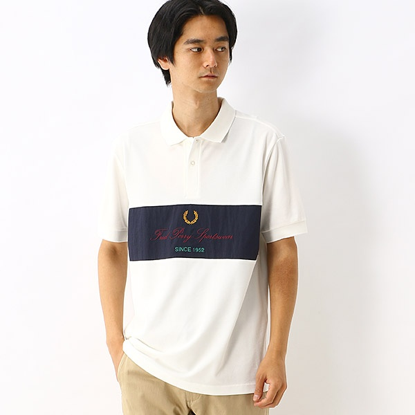 【S20】ARCHIVE BRANDING ポロシャツ/フレッドペリー(メンズ)(FRED PERRY)