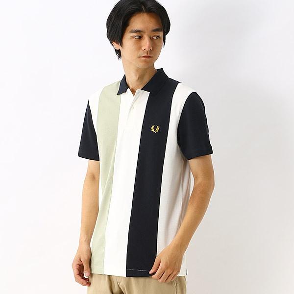【S20】BOLD STRIPE ポロシャツ/フレッドペリー(メンズ)(FRED PERRY)