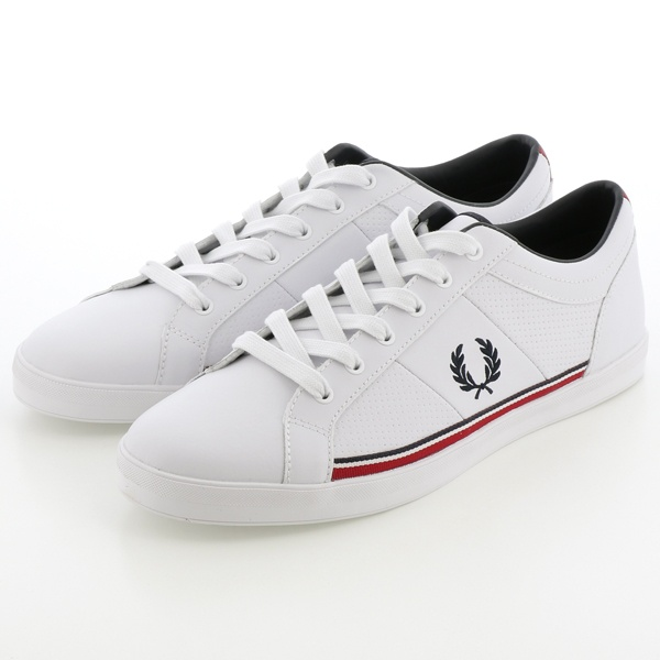 【S20】BASELINE PERFORATED LEATHER/フレッドペリー(メンズ)(FRED PERRY)