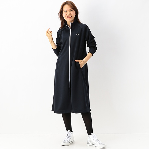 【S20】TRACK DRESS/フレッドペリー(レディス)(FRED PERRY)