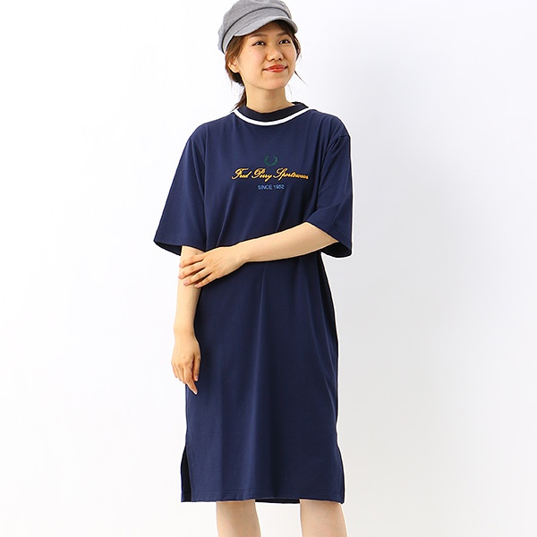 【S20】GRAPHIC T-SHIRT DRESS/フレッドペリー(レディス)(FRED PERRY)