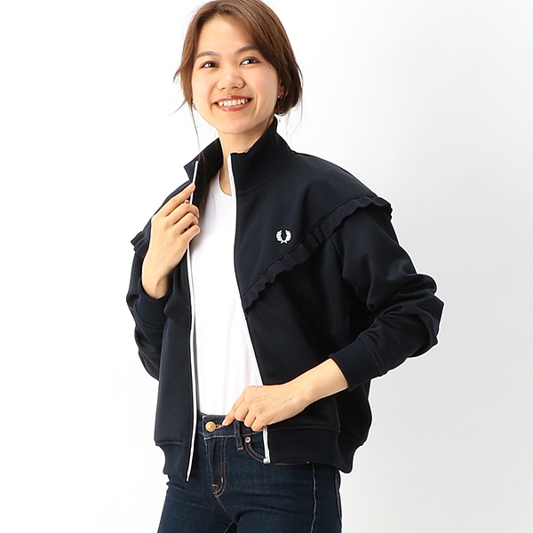 【S20】TRACK JACKET/フレッドペリー(レディス)(FRED PERRY)