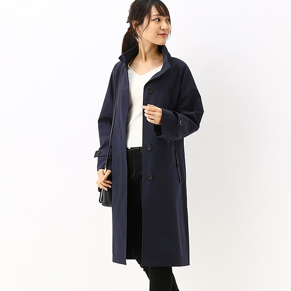 【20SS】STAND COLLAR COAT/フレッドペリー(レディス)(FRED PERRY)