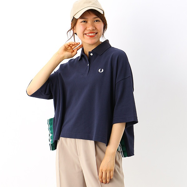 【S20】CROPPED PIQUE SHIRT/フレッドペリー(レディス)(FRED PERRY)