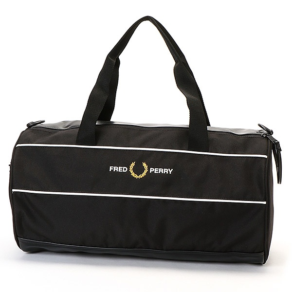 【S20】GRAPHIC PANEL BARREL BAG/フレッドペリー(雑貨)(FRED PERRY)