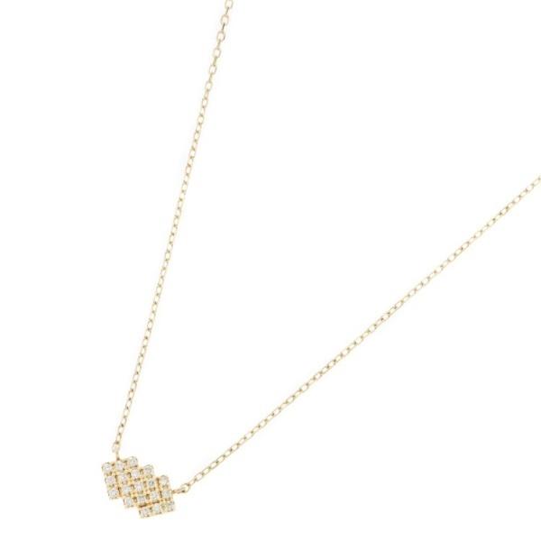 ダイヤモンド トリプルスクエア ネックレス/ココシュニック(COCOSHNIK)