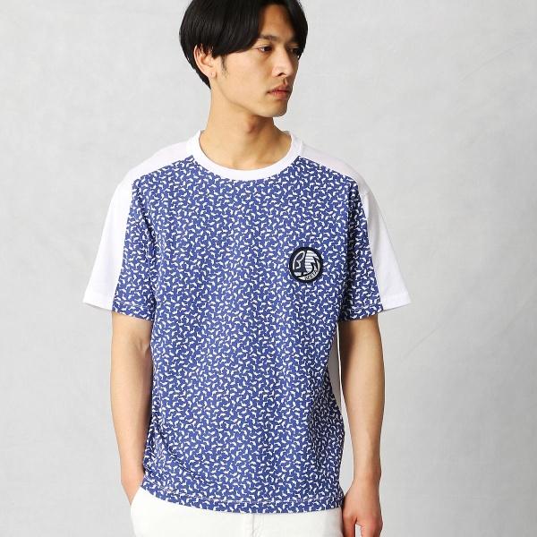 シーサイド ドルフィン柄Tシャツ/βメン(BMEN)