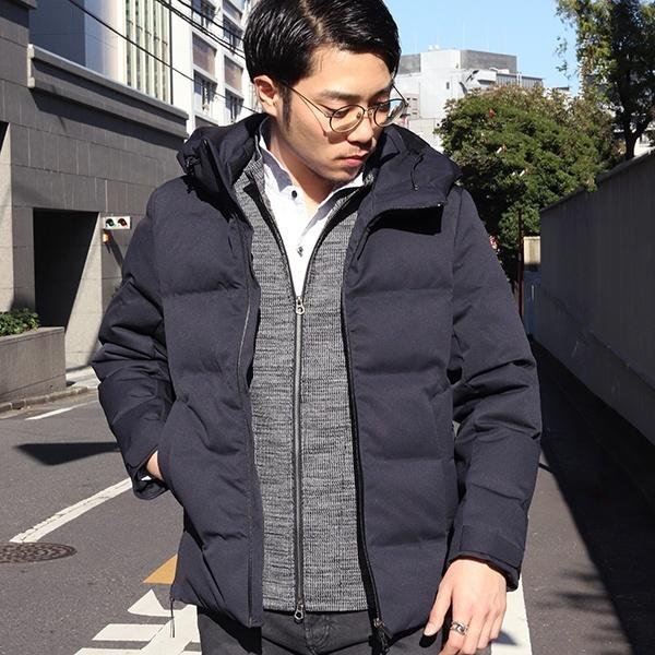 【再生産入荷!】俳優 大谷亮平さん着用 カルゼ シームレスダウン/メンズビギトーキョー(MEN'S BIGI TOKYO)