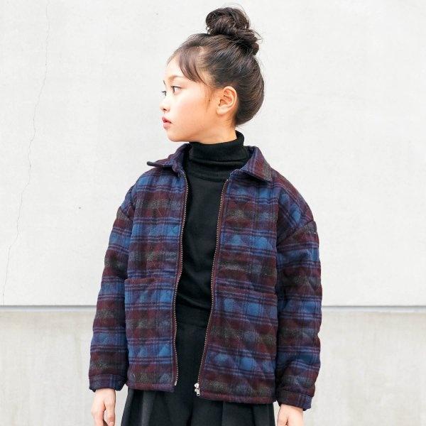 キルティングシャツジャケット/ウェルホール(WELLWHOLE)