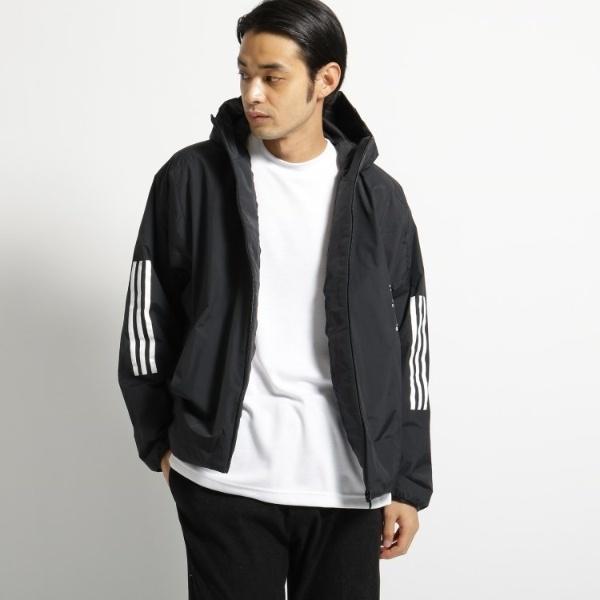adidas 中綿フーデットジャケット/オペークドットクリップ(メンズ)(OPAQUE.CLIP Mens)