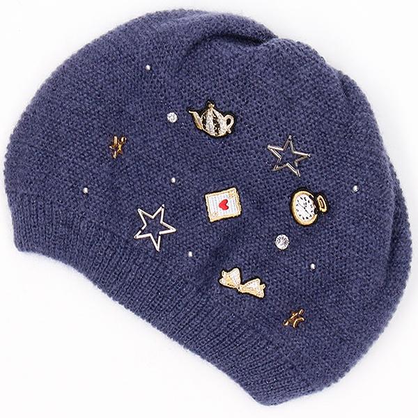 アナスイ モヘアワッチ帽子 日本製/アナスイ(オーロラ)(ANNA SUI)