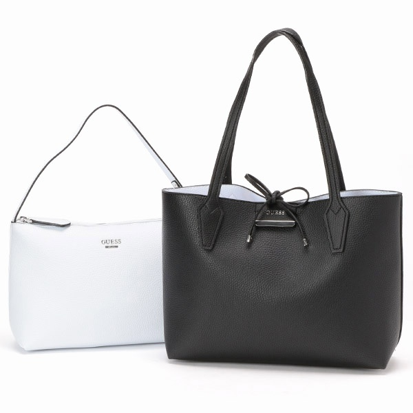 BOBBI INSIDE OUT SMALL TOTE/GUESS(バッグ&ウォレット)(GUESS(bag&wallet))