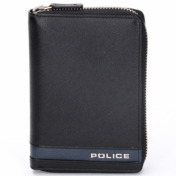 PLC ラウンド財布小/ポリス(バッグ&ウォレット)(POLICE)