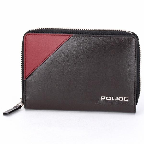 PLC アルバーノ ラウンド財布小/ポリス(バッグ&ウォレット)(POLICE)