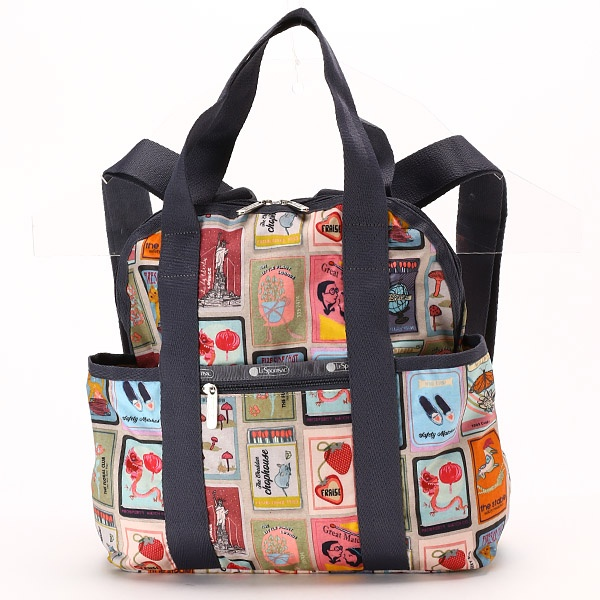 DOUBLE TROUBLE BACKPACK/パーフェクトマッチ/レスポートサック(LeSportsac)