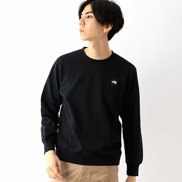 【THE NORTH FACE】カットソー(メンズ ヘザーロゴクルー)/ザ・ノース・フェイス(THE NORTH FACE)