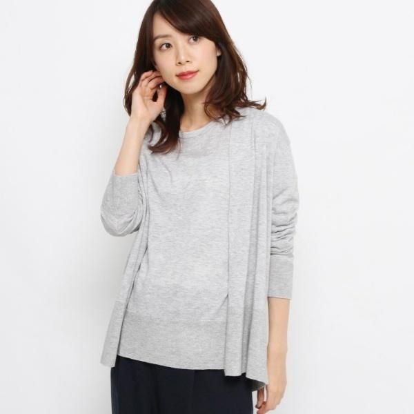 ウール混ラメニットアンサンブル/エッシュ(esche)