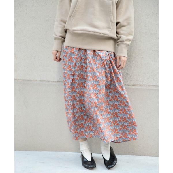 レディススカート(リバティプリントギャザースカート)/かぐれ(kagure)