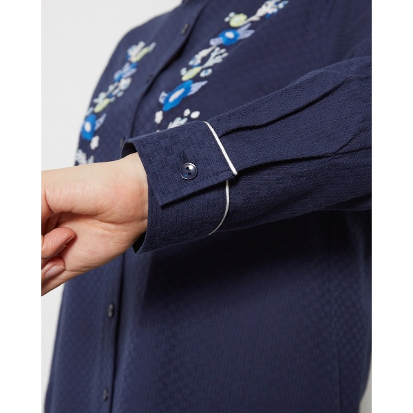 ドビー刺繍シャツ ゴールデンベア レディースGoldenBear435jRAL