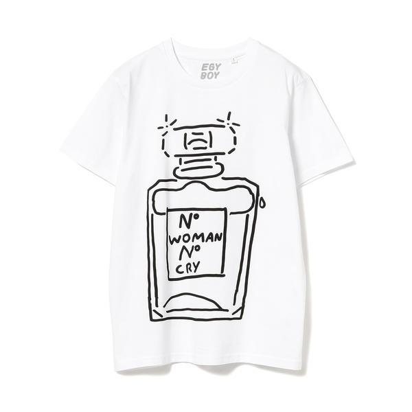 EGY BOY × Ray BEAMS / 別注 Woman Nocry Tシャツ/レイ ビームス(Ray BEAMS)