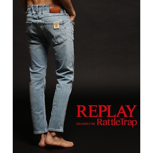 REPLAY×RATTLE TRAP 【AGED 20 YEARS】 ANBASS/ラトルトラップ(RattleTrap)