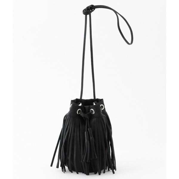 【HOBO】別注 Fringe Drawstring Bag S/アダム エ ロペ(メンズ)(ADAM ET ROPE')