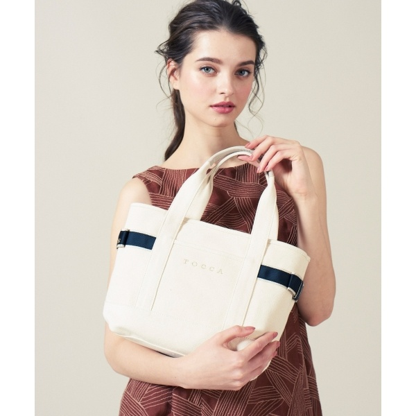 SIDE RIBBON KNOT TOTE S トートバッグ/トッカ(TOCCA)