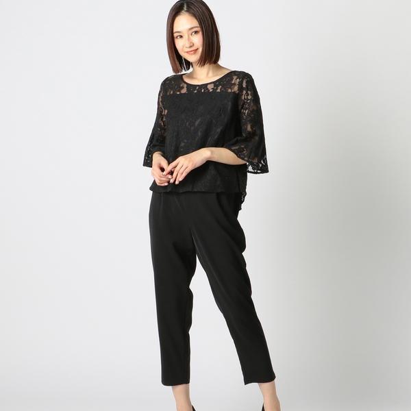 レースブラウスパンツセット/ミューズ リファインド クローズ(MEW'S REFINED CLOTHES)