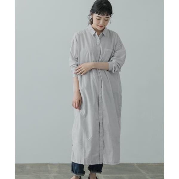 レディスワンピース(コットンベンガラシャツワンピース)/かぐれ(kagure)