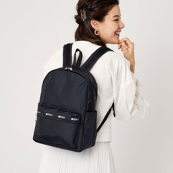 Medium Carson Backpack/オニキス/レスポートサック(LeSportsac)