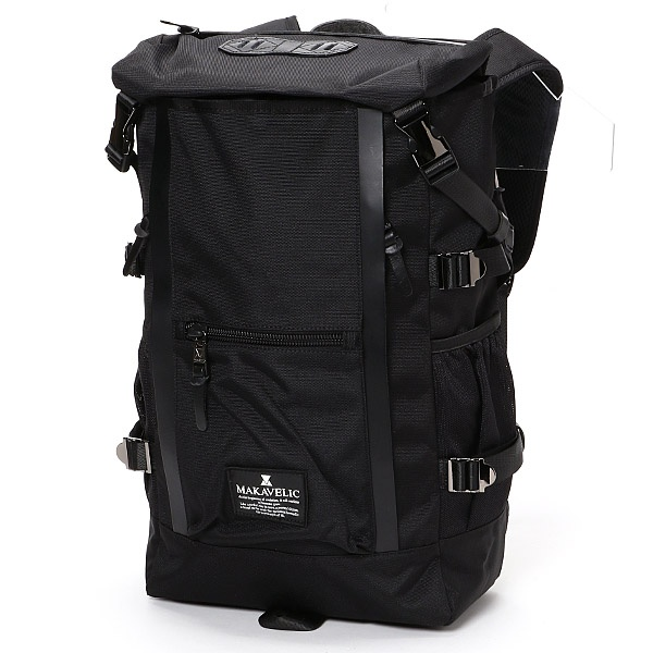 【MAKAVELIC/マキャベリック】【CHASE】DOUBLE LINE BACKPACK/アドポーション(ADOPOSION)