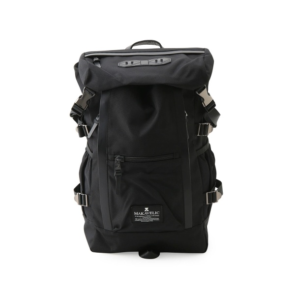【MAKAVELIC マキャベリック】DOUBLE LINE BACKPACK/ジュンレッド(JUNRed)