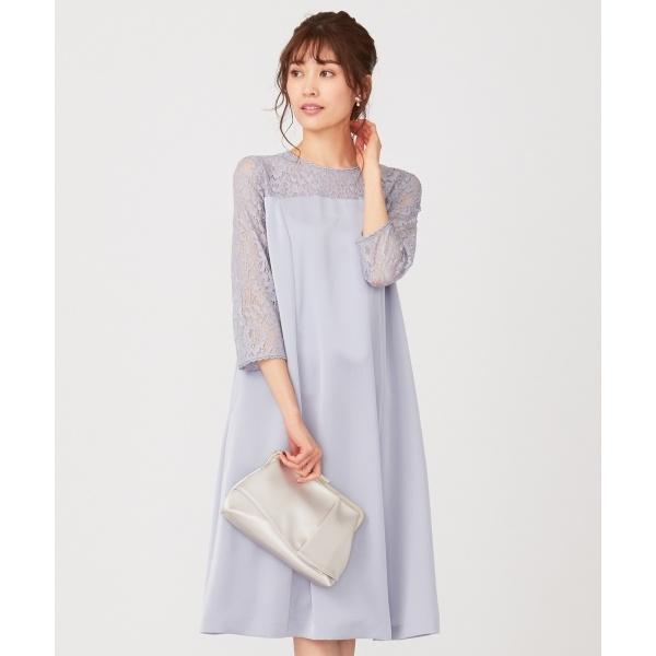 【洗える】レースコンビサック ドレス/エニィスィス Sサイズ(any SiS S)