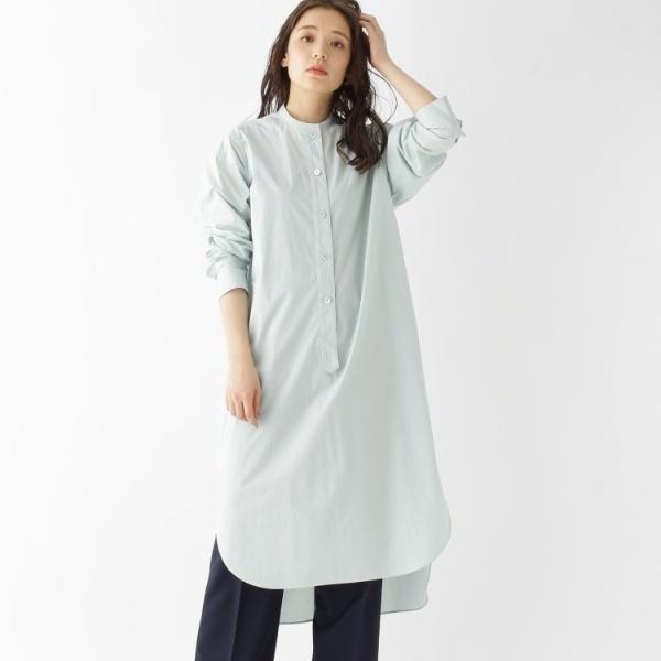 【2WAY洗える】オーガニックコットンシャツドレス/ドレステリア(レディス)(DRESSTERIOR Ladies)