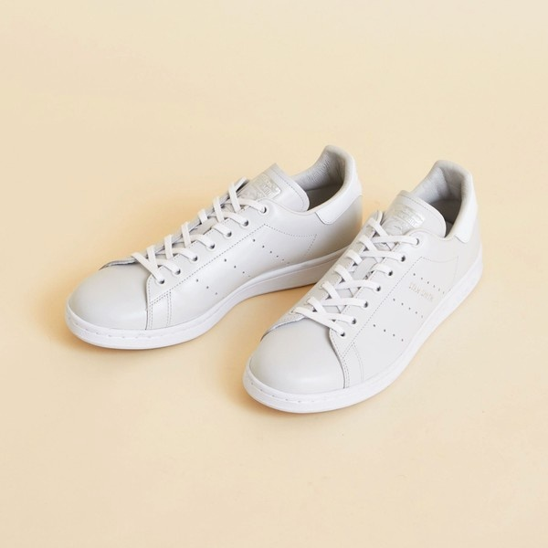 【別注】 <adidas Originals(アディダス)>∴レザー STAN SMITH GRAY/ビューティ&ユース ユナイテッドアローズ レディス(BEAUTY&YOUTH)