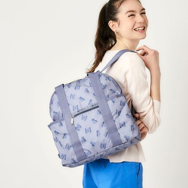 DOUBLE TROUBLE BACKPACK/ボラール/レスポートサック(LeSportsac)