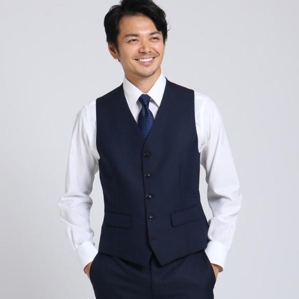 桧垣紋 ベスト/タケオキクチ(TAKEO KIKUCHI)