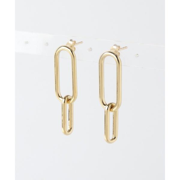 レディスアクセ(PHILIPPE AUDIBERT Doubleoval earrings)/アーバンリサーチ(レディース)(URBAN RESEARCH)