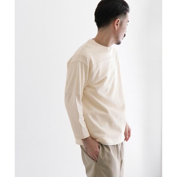 メンズTシャツ(Scye Loopback Terry Football T-shirts)/アーバンリサーチ ドアーズ(メンズ)(URBAN RESEARCH DOORS)