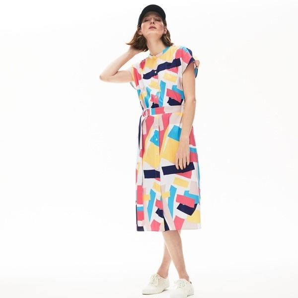 楽天 モダングラフィックデザインシャツドレス/ラコステ(LACOSTE), 【一部予約販売】 6f90ab83
