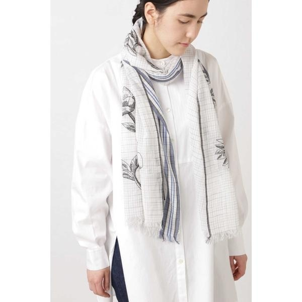 ◆INOUI TOOSH刺繍ストール/ヒューマンウーマン(HUMAN WOMAN)