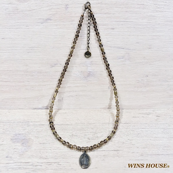 【チョーカー】スモーキークォーツ/ウインズハウス(WINS HOUSE)