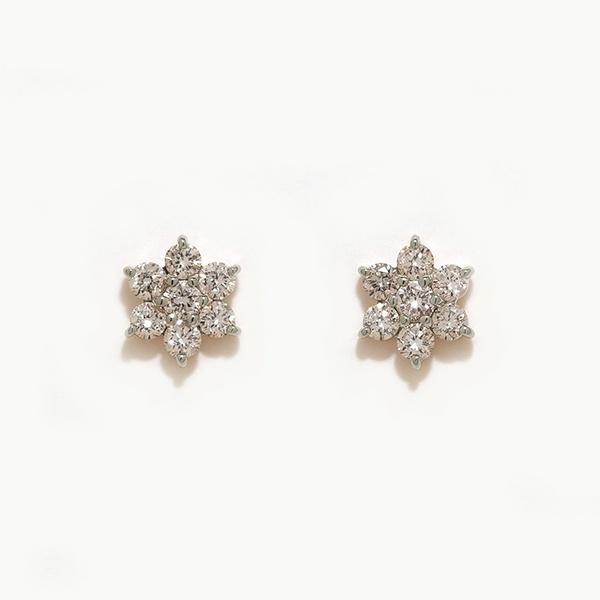 プラチナ ダイヤモンド ピアス(0.3ct)/エステール(ESTELLE)