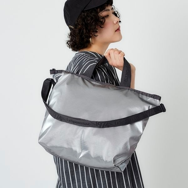 DELUXE EASY CARRY TOTE/グレーシマー/レスポートサック(LeSportsac)