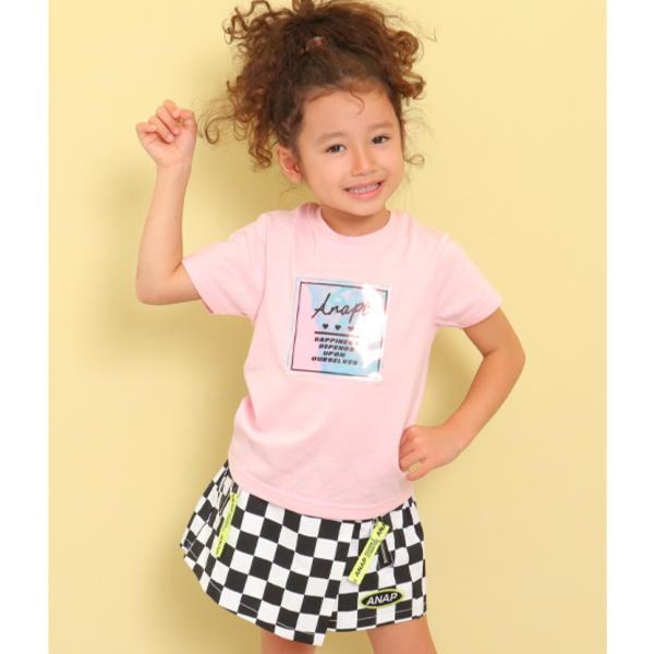 サービス SALE - オーロラPVCBOXTシャツ 配送員設置送料無料 アナップキッズ ANAP KIDS ガール GIRL