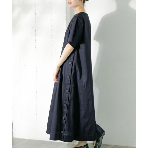 レディスワンピース(Le GLAZIK COTTON HC TWILL ONE-PIECE)/かぐれ(kagure)