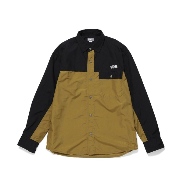 【THE NORTH FACE】 L S nuptse shirt/アダム エ ロペ ル マガザン(ADAM ET ROPE Le Magasin)