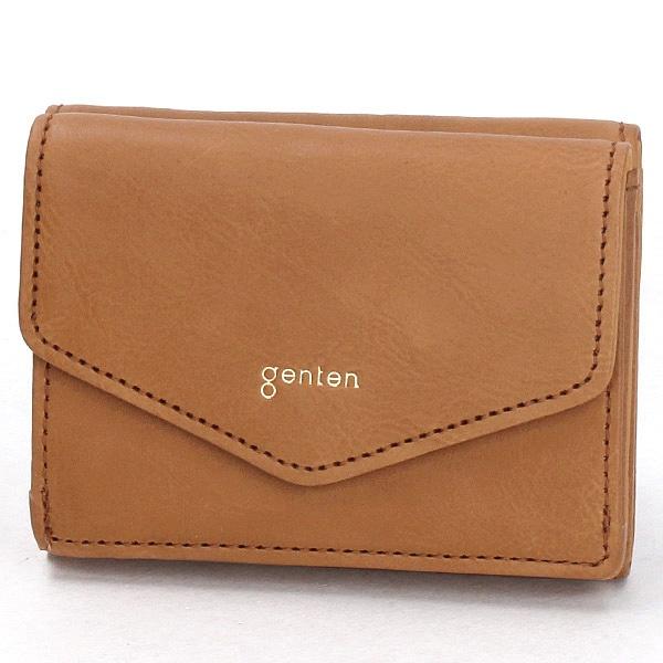 ピアチェーレ 三つ折り財布/ゲンテン(genten)