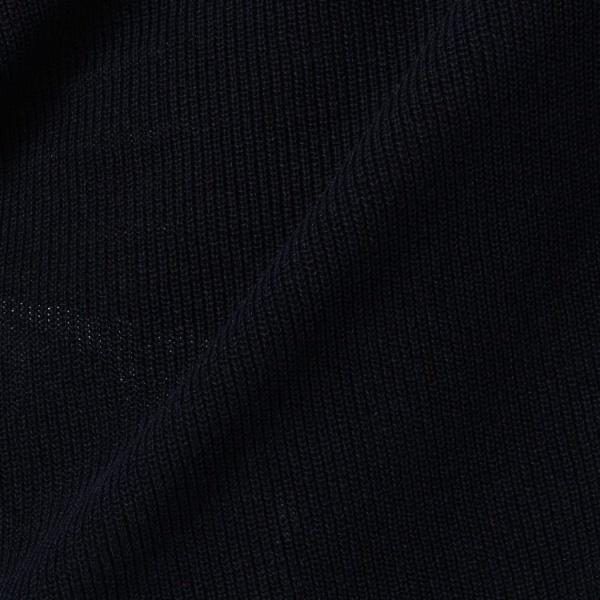 洗える 七分袖ペーパー混サイドボタンニット アンタイトル UNTITLEDHEIDW92